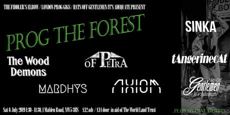 Prog The Forest - Prog rock charity festival raising funds for the World Land Trust tickets