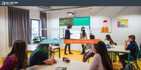 Vormingsdag Het Archief voor Onderwijs - BRUSSEL, woe 06/11/2019 tickets