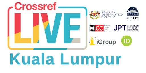 Crossref LIVE Kuala Lumpur