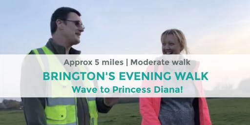 THE BRINGTON'S STROLL WITH A WAVE TO DIANA! | APPROX 5 MILES | MODERATE | NORTHANTS
