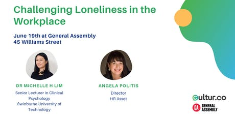 Challenging Loneliness in the Workplace tickets