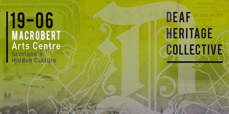 Deaf Heritage Collective Workshop tickets