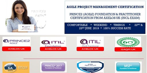 Prince2 (Agile) Foundation and Practitioner or Prince2 (Agile) Foundation and Scrum Master Certification