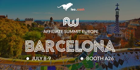 Leo.cash at Affiliate World Europe 2019 tickets