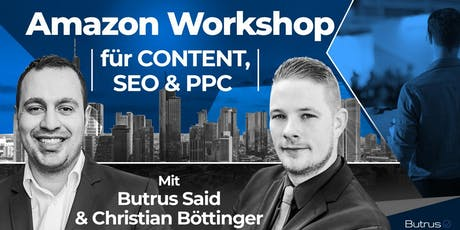 Amazon Workshop für CONTENT, SEO & PPC in Darmstadt Tickets