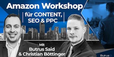 Amazon Workshop für CONTENT, SEO & PPC in Darmstadt tickets