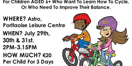 Blazing Saddles, Learn to Cycle Camp Summer 2019