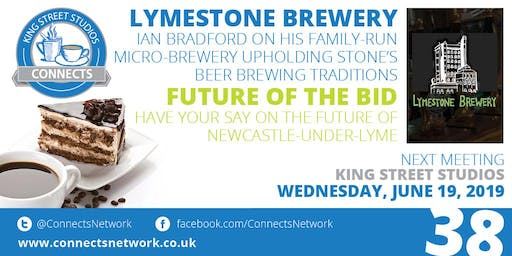 Connects Network Meeting with guest speaker Ian Bradford, Lymestone Brewery