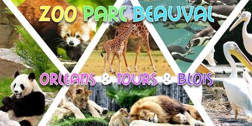 Week-end Zoo de Beauval, Orléans, Tours & Blois 2019 79,9€ Promo