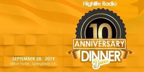 Highlife Kente Dinner Dance 2019 tickets