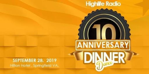Highlife Kente Dinner Dance 2019