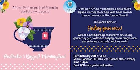 Ladies' Biggest Morning Tea tickets