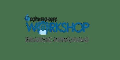 Rainmakers New Strategic Networking Workshop Series tickets