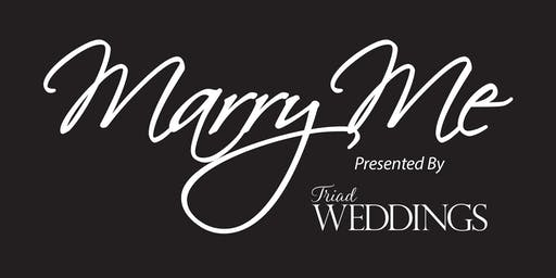 Marry Me ~ The Triad's Premier Wedding Planning Event