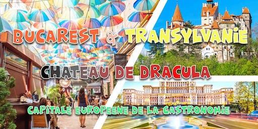 Voyage en Roumanie 6 jours: Château Dracula, Sibiu - PROMO 299€