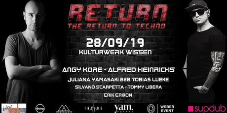 Return -The Return to Techno- Tickets