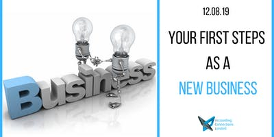 Your first steps as a new business