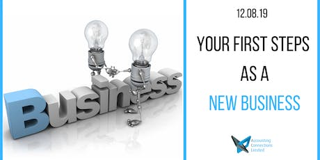 Your first steps as a new business tickets