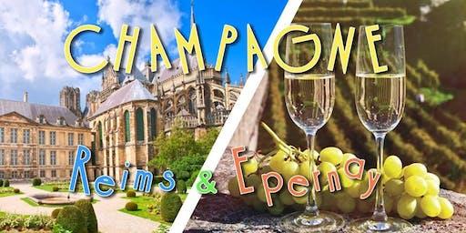 Voyage en Champagne : Reims & Epernay - DAY TRIP - 22 juin