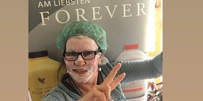 Information und Tuchmaske rund um die Aloe Vera