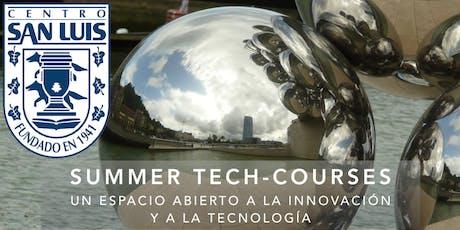 Summer Tech-Courses del Centro San Luis entradas