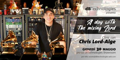 A day with the Mixing Lord: dBTechnologies presenta Chris Lord-Alge