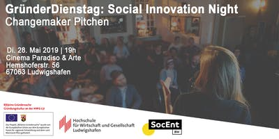 GründerDienstag: Social Innovation Night
