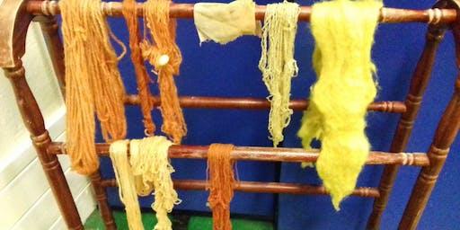 Natural Dyes Workshop.