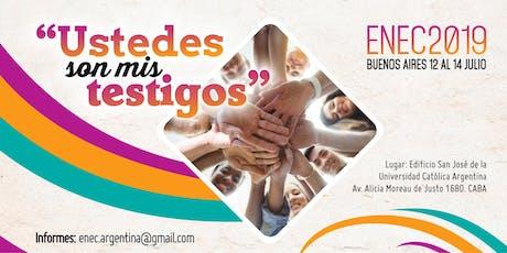 ENEC 2019 - Encuentro Nacional de Evangelización y Catequesis  entradas