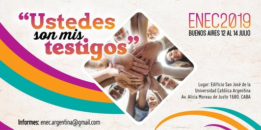 ENEC 2019 - Encuentro Nacional de Evangelización y Catequesis