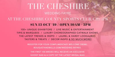 The Cheshire Wedding Fayre at The Cheshire County Sports Club