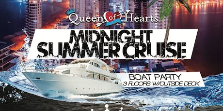 A Midnight Summer Cruise :: QUEEN OF HEARTS : PIER 36 :: NYC : BOAT KINGZ tickets