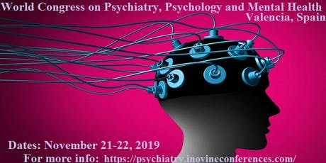 World Congress on Psychiatry, Psychology and Mental health tickets