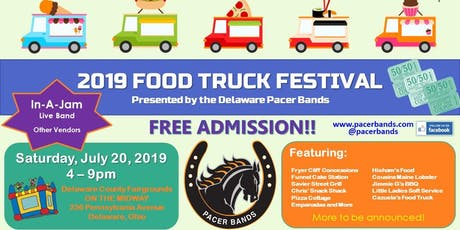 Delaware Pacer Bands Food Truck Festival tickets