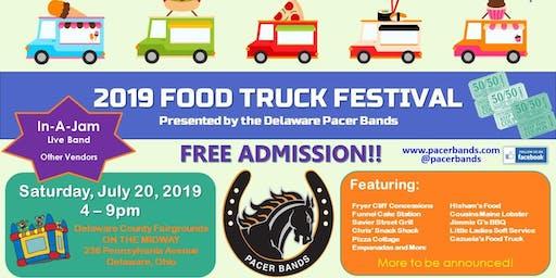 Delaware Pacer Bands Food Truck Festival