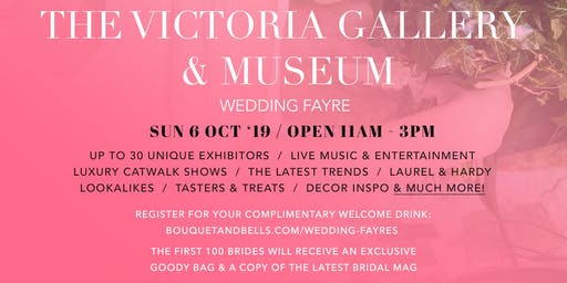 The Victoria Gallery & Museum Wedding Fayre