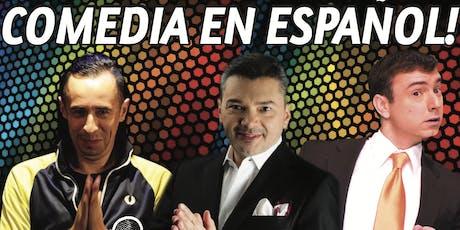 Viva la Comedia - La fiesta del humor en espanol! Todos los martes! boletos