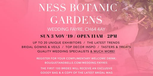 Ness Botanic Gardens Wedding Fayre
