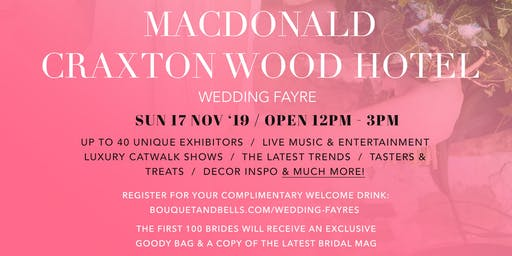 MacDonald Craxton Wood Hotel Wedding Fayre