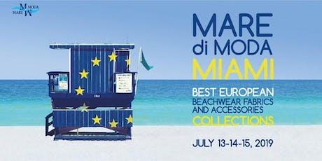 MarediModa Miami - Fabrics & Trims collections tickets