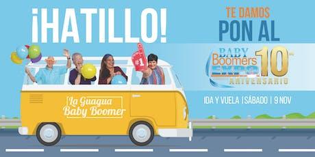 La Guagua Baby Boomer - HATILLO hacia el Baby Boomers EXPO 2019 (SÁBADO) tickets