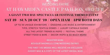 Bouquet & Bells x Event in a Tent Wedding Fayre at Hawarden Castle Pavilion  tickets