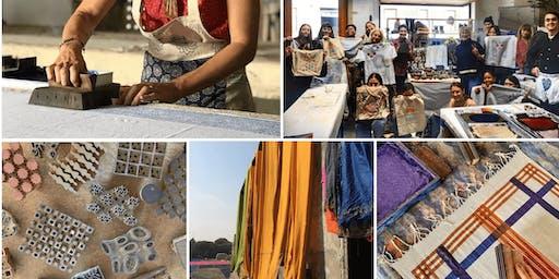 Traditional Indian Block Printing with Studio Bagru