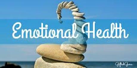 Emotional Awareness (NE) - recognising, understanding and managing emotions tickets