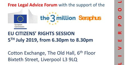 EU citizens' Rights Session - Liverpool tickets