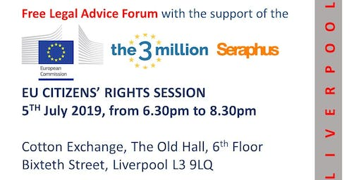 EU citizens' Rights Session - Liverpool