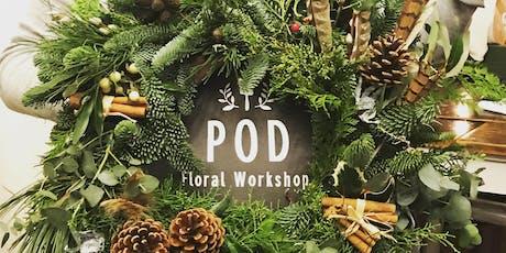 Christmas Door Wreath Making tickets