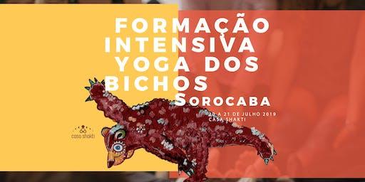 Formação Intensiva Yoga dos Bichos 20 a 21 de julho – Sorocaba, Com Kit