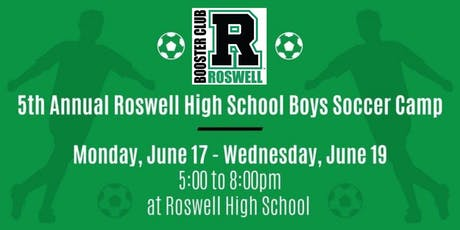 2019 RHS summer soccer camp for boys age 6-14 tickets