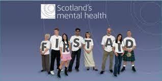 Scotland's Mental Health First Aid (26th & 27th August 2019)